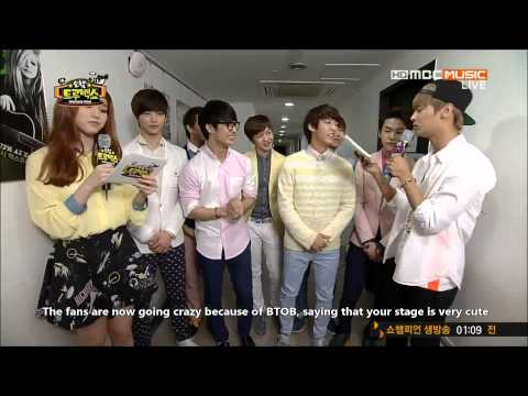 [ENG] 130501 BTOB & VIXX N Cut - Show Champion True Back Show