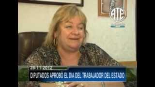 28 11 2012 MEDIA SANCION EN DIPUTADOS POR EL DIA DEL TRABAJADOR DEL ESTADO