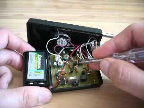 Homemade CB tranceiver  Walky Talky