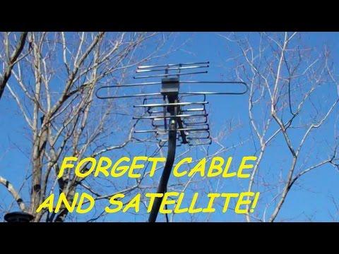 Open Box, Assemble, Install & Testing an Outdoor Digital HDTV Antenna