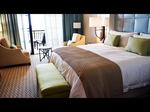 Four Seasons Orlando at Walt Disney World Deluxe Suite Room Tour w/ Park View Epcot, Magic Kingdom