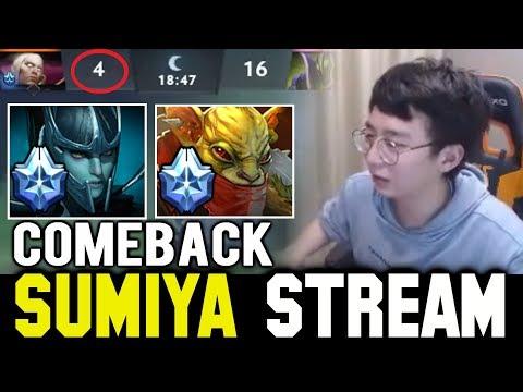 SUMIYA 4-16 Comeback against PA Spammer | SUMIYA Invoker Stream Moments #607