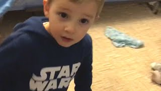 3 Year Old Caught Singing!!!