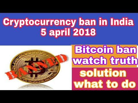 RBI: Bitcoin ban in India | what is the solution | cryptocurrency ban in India RBI notice