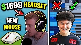 Tfue's NEW $1,699 Headset & Mouse, Faze Jarvis's NEW Legacy Settings & Khuna NEW Mouse/Keyboard!