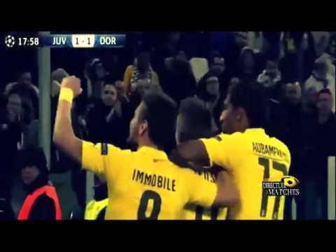 Juventus vs Borussia Dortmund 2-1 (24/2/2015) UEFA Champions League 2015 HD
