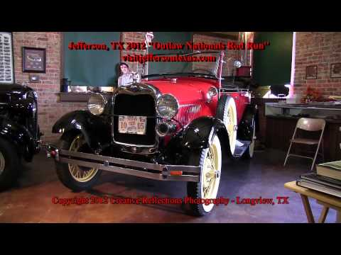 Jefferson, TX 2012 Outlaw Nationals Rod Run.mp4