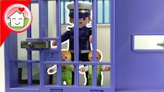 Playmobil Film deutsch - Polizei Kommissar Overbeck Mega Pack mit Familie Hauser - Video für Kinder
