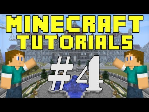 Minecraft Tutorials E04: Finding Diamonds!