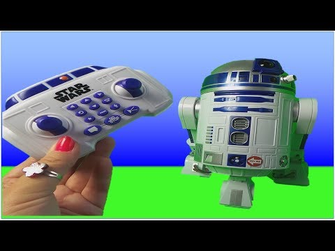 Star Wars R2-D2 R/C Robotic Droid Toy Unboxing from the LAST JEDI