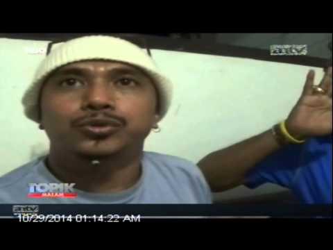 [ANTV] TOPIK Pemuda Ditangkap Warga, Bawa Gunting Dan Parang