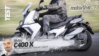 BMW C 400 X | PRIX NOBEL POUR LE BMW C 400 X ? | TEST MOTORLIVE
