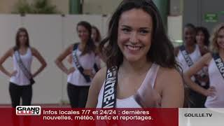 Elections Miss France 2019, les répétitions à Lille