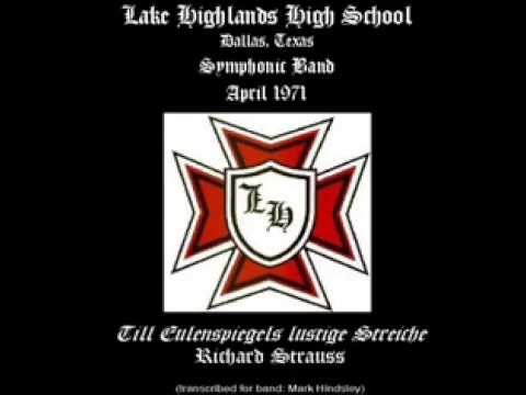 Lake Highlands High School - Till Eulenspiegel's Merry Pranks