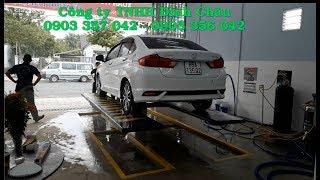 Xuân Thanh Carwash Khai trương tiệm rửa xe ô tô - Cầu nâng ô tô 1 trụ Định Châu