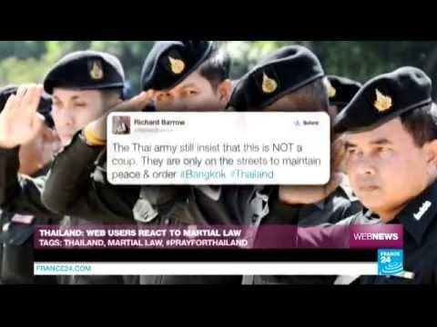 WEB NEWS - Thailand: Web users react to martial law