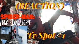 SPIDER-MAN:FAR FROM HOME TV SPOT #1 REACTION!!(This Look's Emotionally AMAZING)