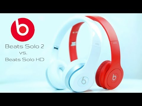 Beats by Dre Solo 2 vs.
