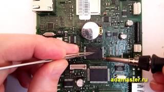 Как припаять флешку в корпусе TSOP56 с помощью паяльника