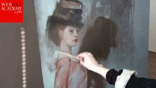 Impressionistic painting | How to paint a figure and portrait | Oil Painting techniques