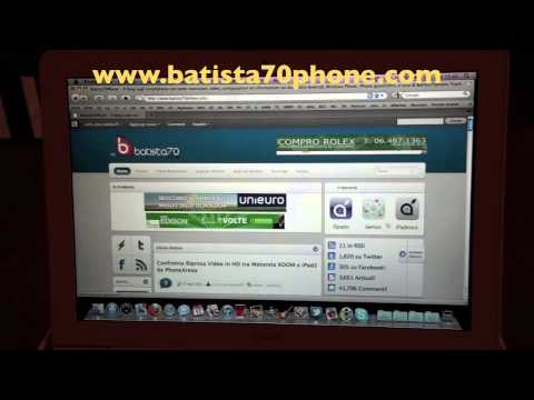 0 Video Presentazione batista70phone Blog.wmv