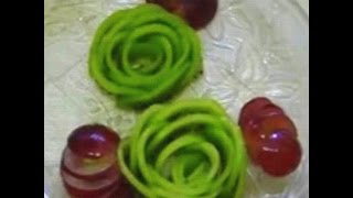 Diy How to make a Kiwi Rose