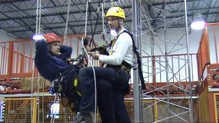Rope Access Training - pick off rescue