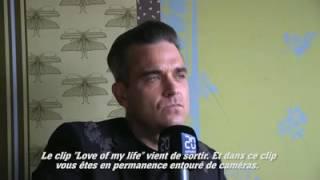 Robbie Williams interview at Zurich  2016