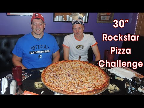 "30"" ROCKSTAR Pizza Team Eating Challenge near Indianapolis (HW #7)"