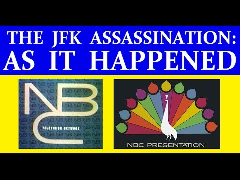 Jfk's Assassination (nbc-tv Coverage) (part 1) [with Rare Footage Added] video