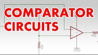 Comparator tutorial & clapper circuit