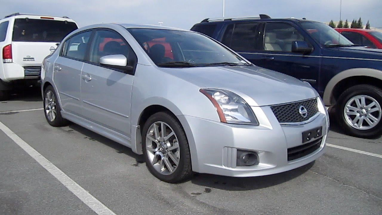 2008 nissan sentra se r spec v start up exhaust and in. Black Bedroom Furniture Sets. Home Design Ideas