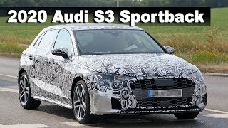 All-New 2020 Audi S3 Sportback Prototype