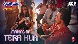 Making Of Tera Hua Audio Loveyatri Aayush Sharma Warina Hussain Atif Aslam Tanishk Bagchi