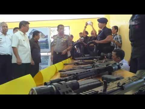 VIDEO Ibukota Provinsi Paling Bungsu Ini Akhirnya Miliki Detasemen V Pelopor Satbrimob #1