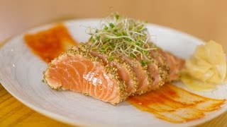 Bearded Salmon Sashimi