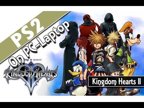 Kingdom Hearts II (PCSX2 v1.2.1) PS2 Emulator on PC-Laptop