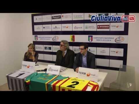 Conferenza stampa Giulianova Calcio 16 novembre 2013