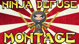 CS:GO - Top 10 * Ninja Defuses*