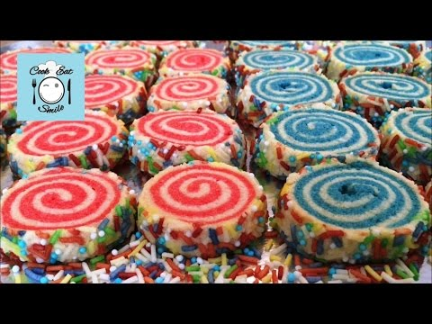 Весёленькое  вкусное спиральное песочное печенье.