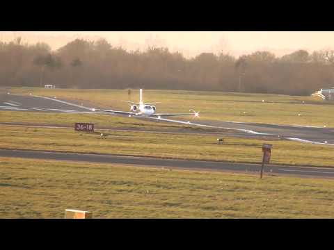 Cessna 550B Citation Bravo G-CGEI - take off - Gloucestershire airport