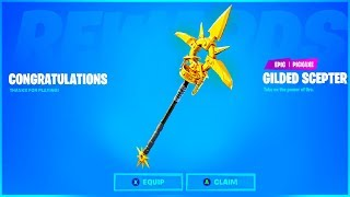 How To Get GILDED SCEPTER Pickaxe in Fortnite Battle Royale! (Collect Medals)