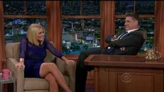 Carrie Keagan - gorgeous and leggy - Craig Ferguson - November 11, 2013