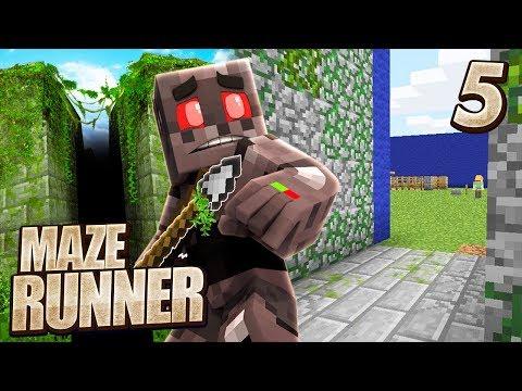 Minecraft Maze Runner Episode 5: Close Call
