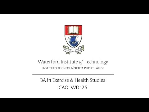 BA Exercise & Health Studies (WIT) Course Video 2013