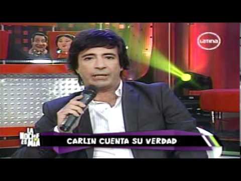 Carlos Carlin provoca y recibe su merecido, Diego Bertie besa a Carlos Carlin al aire