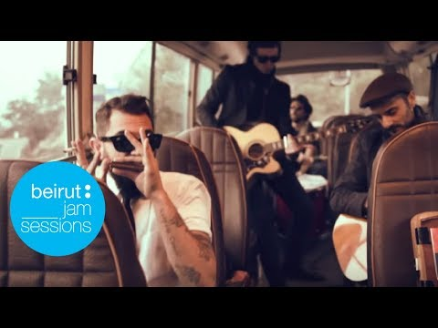 Beirut Jam Sessions - The Wanton Bishops & Oak - On the road again (cover)