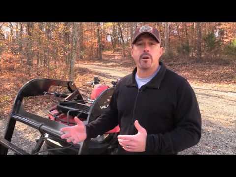 Wild Hare ATV Bucket Loader Hydraulic Loader as Seen on Fisher ATV World