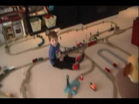Thomas Train Trackmaster Layouts Layout Trackmaster Thomas