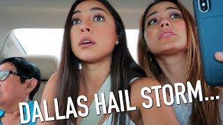 I Got Caught in a Scary Hail Storm in Dallas...